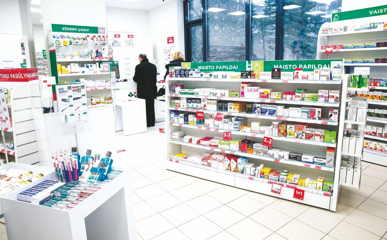 Vaistinės įsileidžia partnerius, tikisi klientų srauto