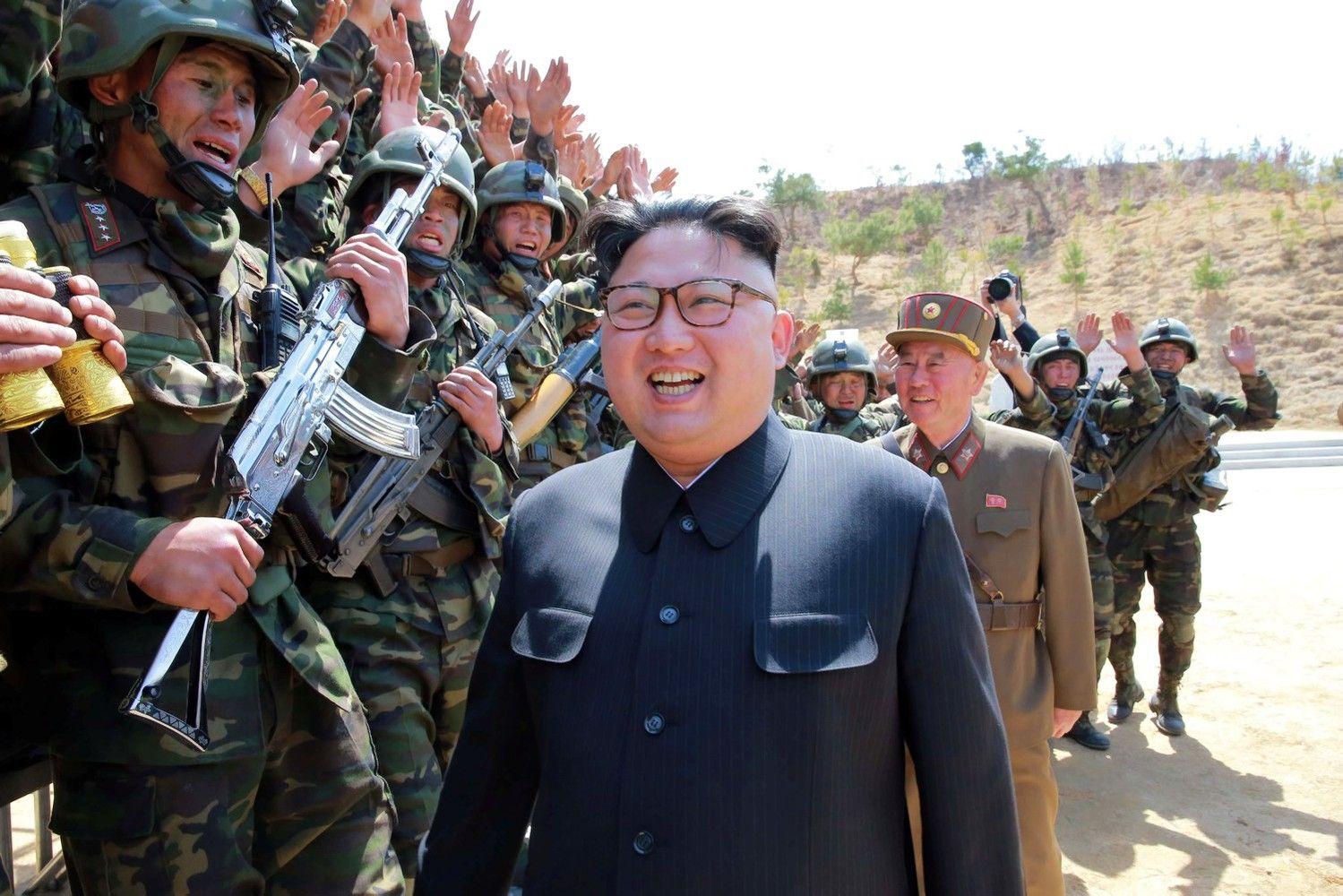 Didėja įtampa tarp Šiaurės Korėjos, JAV ir Kinijos