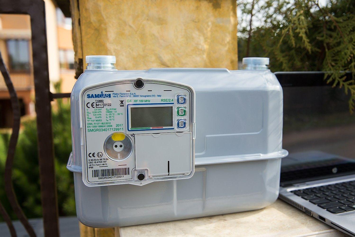 ESO bando išmanią dujų apskaitą