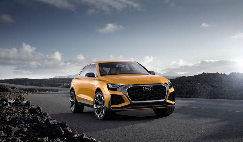 """""""Audi Q8"""" koncepcija. Gamintojo nuotr."""