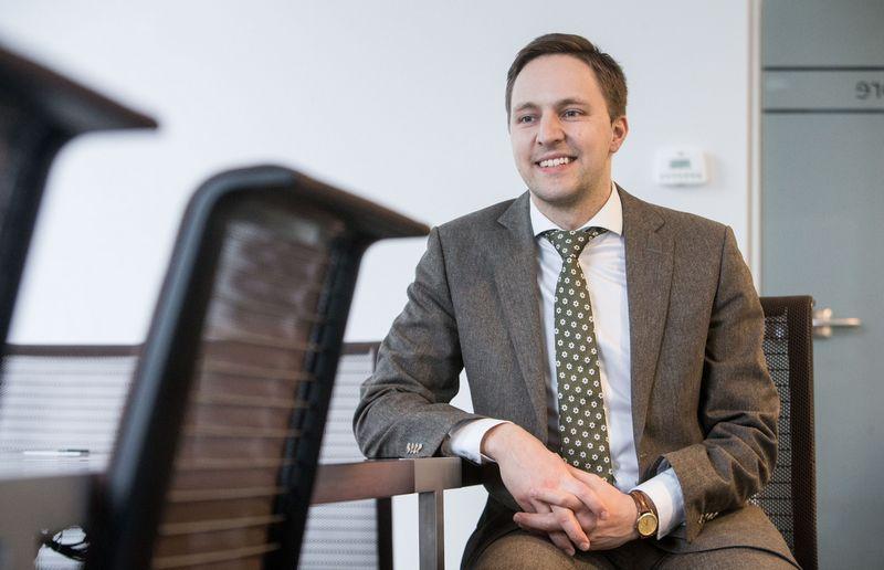 Tomas Krakauskas, VĮ Lietuvos oro uostai valdybos pirmininkas. Juditos Grigelytės (VŽ) nuotr.