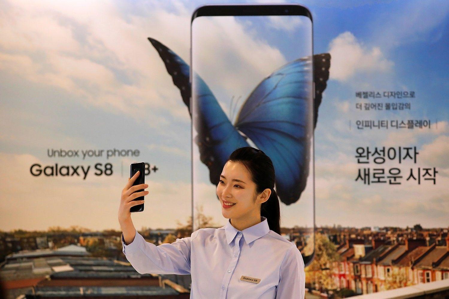 """""""Galaxy S8"""" daugiausia užsako lietuviai"""