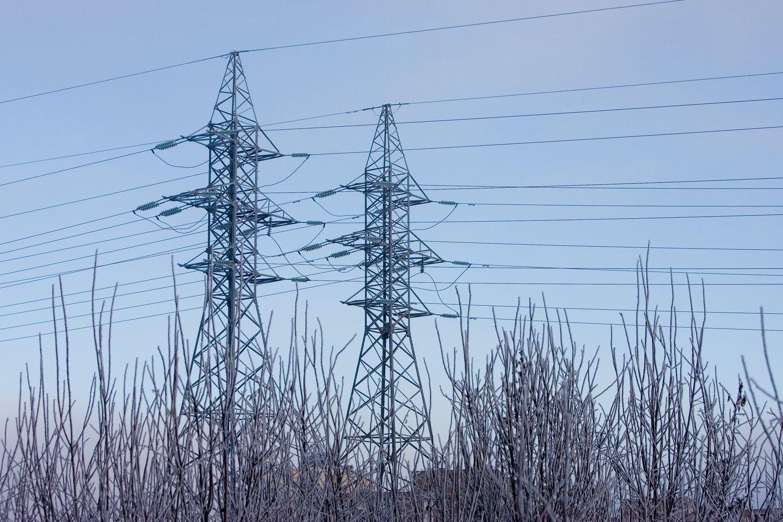 Velykinis sniegas sutrikdė elektros tiekimą