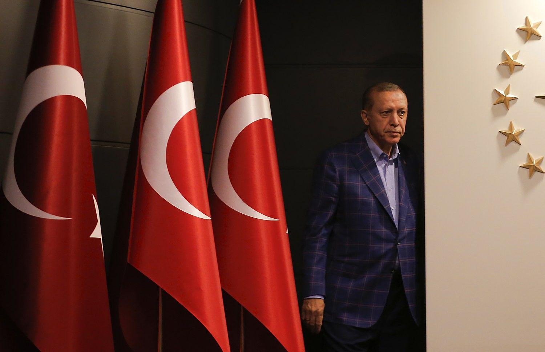 Turkijos kryptį keičianti Erdogano revoliucija