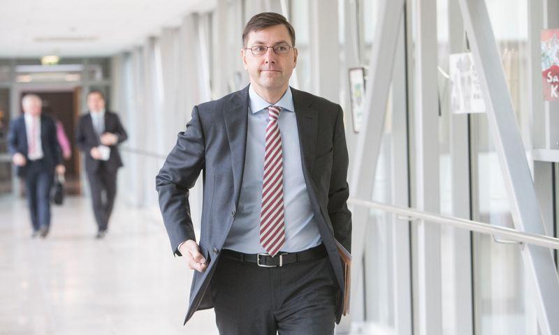 Gintaras Steponavičius,  Seimo narys. Juditos Grigelytės (VŽ) nuotr.