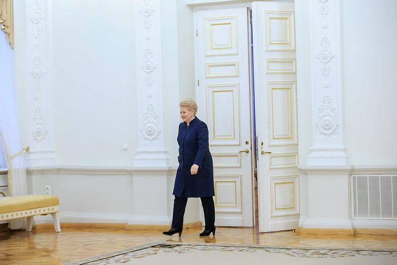 Dalia Grybauskaitė, Lietuvos prezidentė. Vladimiro Ivanovo (VŽ) nuotr.