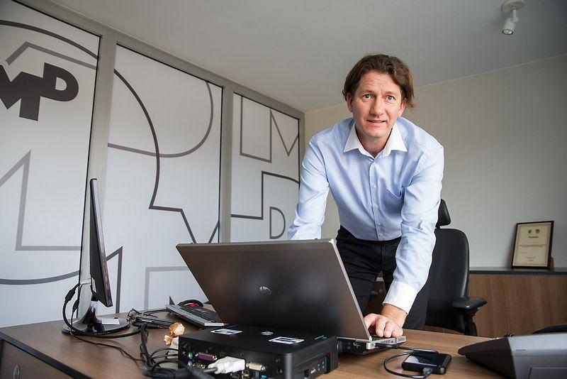 Darius Gricius, žiniasklaidos planavimo  agentūros OMD generalinis direktorius. Juditos Grigelytės (VŽ)nuotr.
