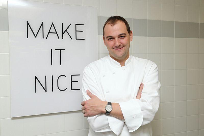 """Danielis Hummas, geriausio Šiaurės Amerikoje ir pasaulyje restorano """"Eleven Madison Park"""" virtuvės meistras, tvirtina, kad sėkmę jam atnešė trys žodžiai: """"Padaryk tai nuostabiai."""" """"Blancpain.com"""" nuotr."""