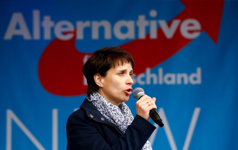 Vokietijos populistų galva atsisako vedlės vaidmens