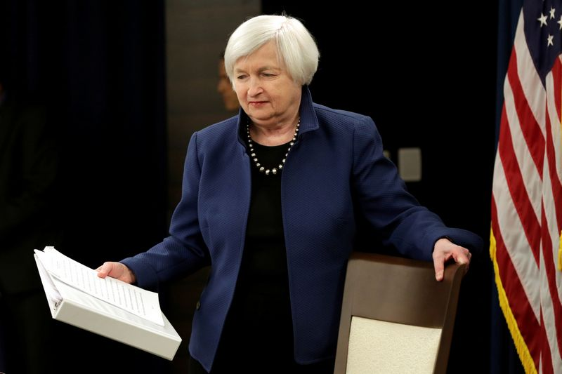"Janet Yellen, FED vadovė. Yuri Gripas  (""Reuters"" / ""Scanpix"") nuotr."