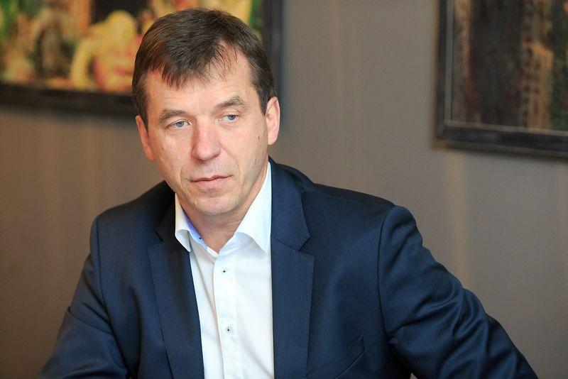 """Remigijus Šeris, AB """"Lietuvos radijo ir televizijos centras"""" generalinis direktorius. Vladimiro Ivanovo (VŽ) nuotr."""