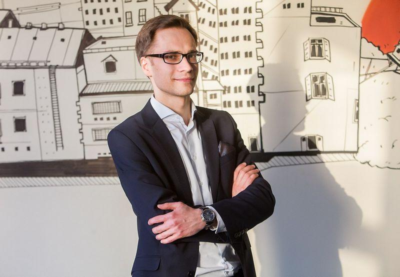 """Mantas Zamžickas, VšĮ """"Versli Lietuva"""" verslo plėtros komandos vadovas: """"Verslininkai, kurie įvertina tolesnes veiklos perspektyvas, stengiasi diversifikuoti gamybą."""" Juditos Grigelytės (VŽ) nuotr."""