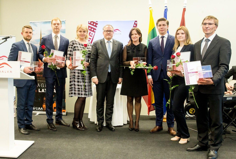 Apdovanoti Latvijos ir Lietuvos verslai