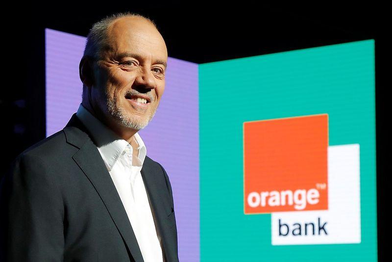 """Stephane'as Richardas, telekomunikacijų bendrovės """"Orange"""" vykdomasis direktorius. Charleso Platiau (""""Reuters""""/""""Scanpix"""") nuotr."""