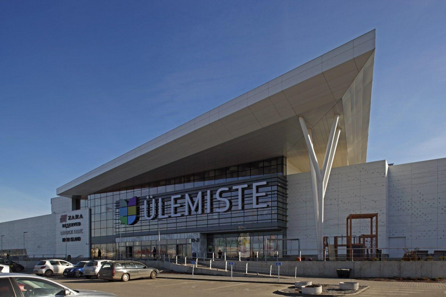 Estijoje numato didžiausią prekybos centrą Baltijos šalyse