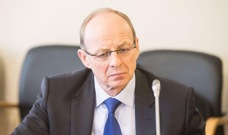 Jonas Milius, buvęs VMVT vadovas.  Juditos Grigelytės (VŽ) nuotr.