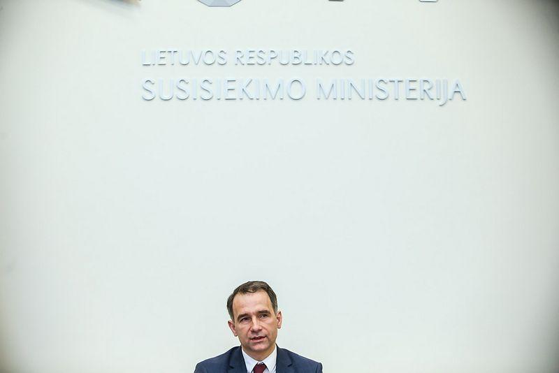Rokas Masiulis, Lietuvos Respublikos susisiekimo ministras. Vladimiro Ivanovo (VŽ) nuotr.