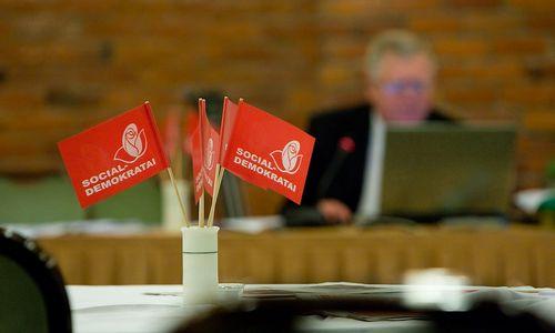 Socialdemokratai išsirinks pirmininką