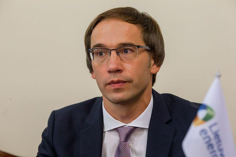 """Mantas Mikalajūnas, UAB """"Lietuvos dujų tiekimas"""" generalinis direktorius. Vladimiro Ivanovo (VŽ) nuotr."""