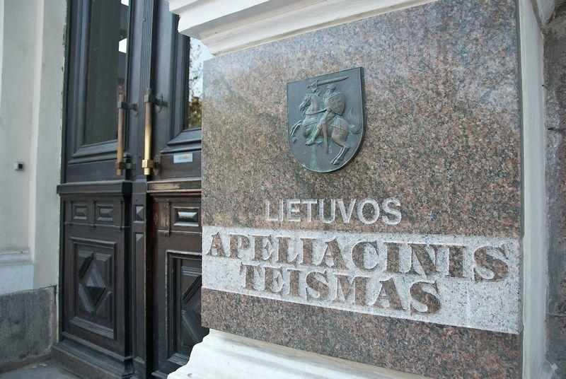 Lietuvos apeliacinis teismas Vilniuje, Gedimino pr.40/1. Herkaus Milaševičiaus nuotr.