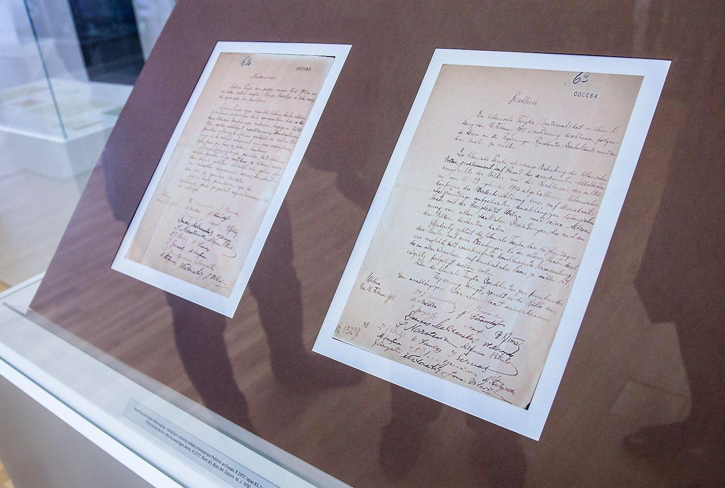 Vokietijos archyvarų vadas nenorėtų atiduoti Vasario 16-osios Akto Lietuvai