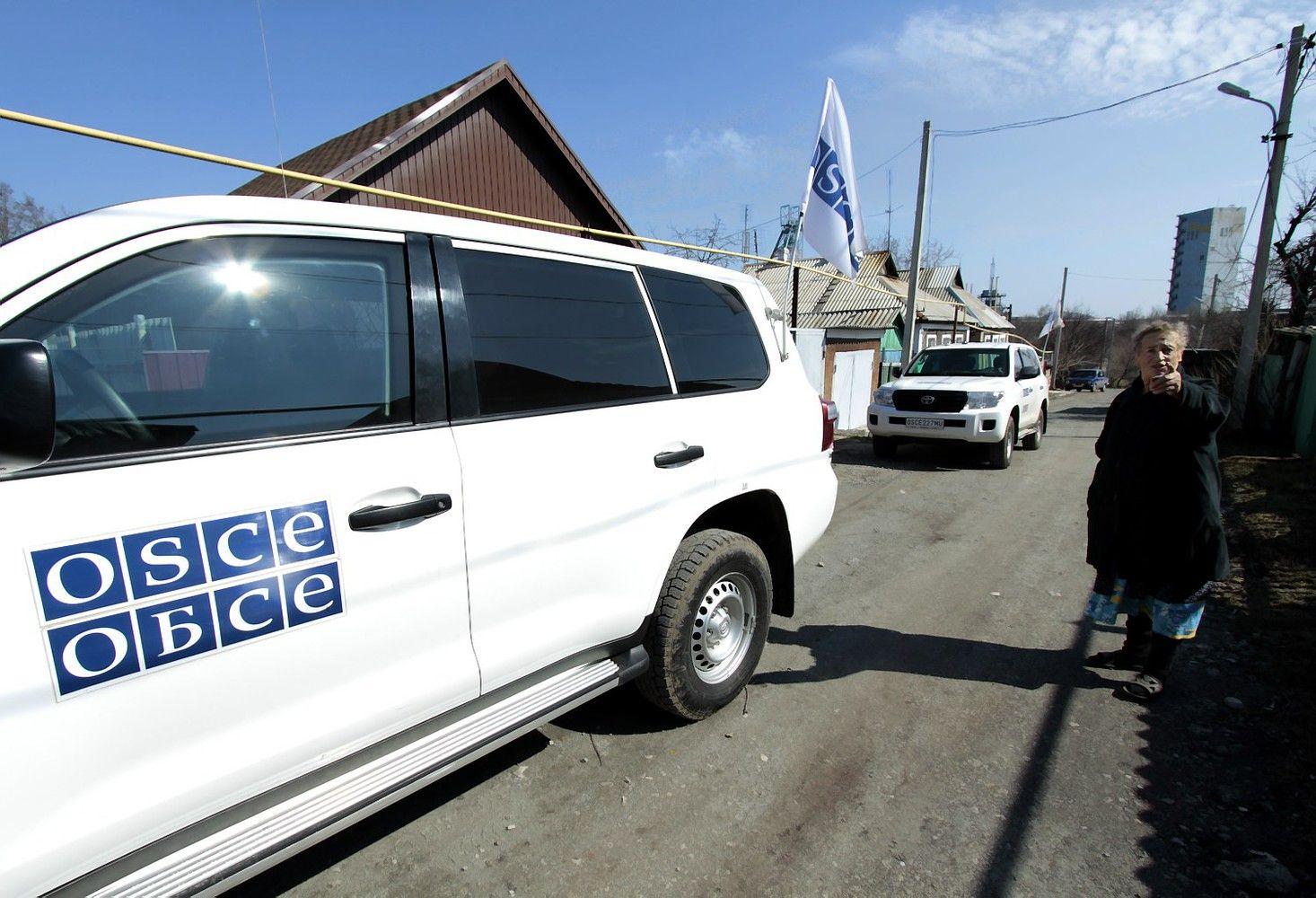 Rytų Ukrainoje per sprogimą žuvo ESBO darbuotojas