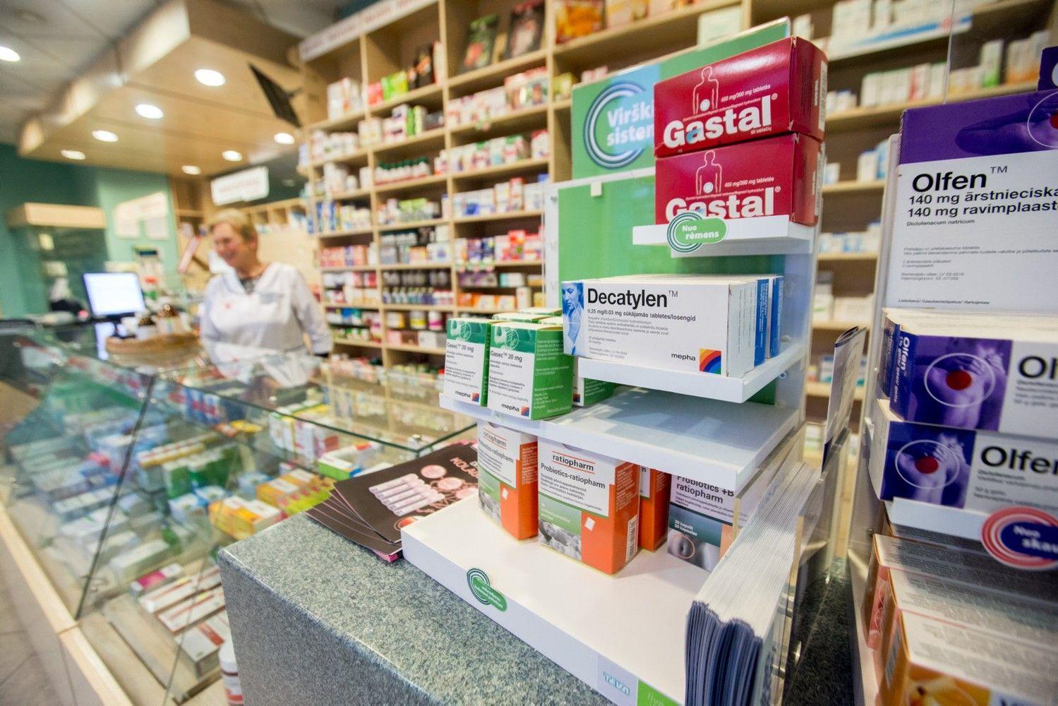 Susikibo dėl vaistų kainų