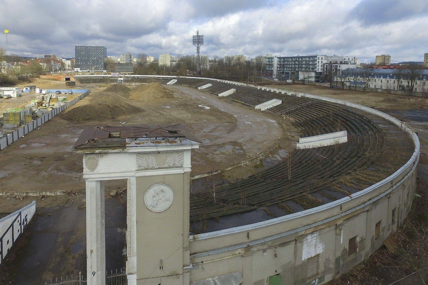 """Išreiškė politinę valią – buvusio """"Žalgirio"""" stadiono teritorijoje naujo stadiono nebus"""