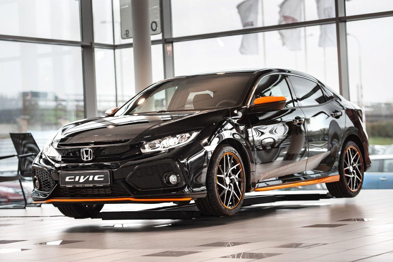 """Į Lietuvą atkeliavo naujas """"Honda Civic"""""""