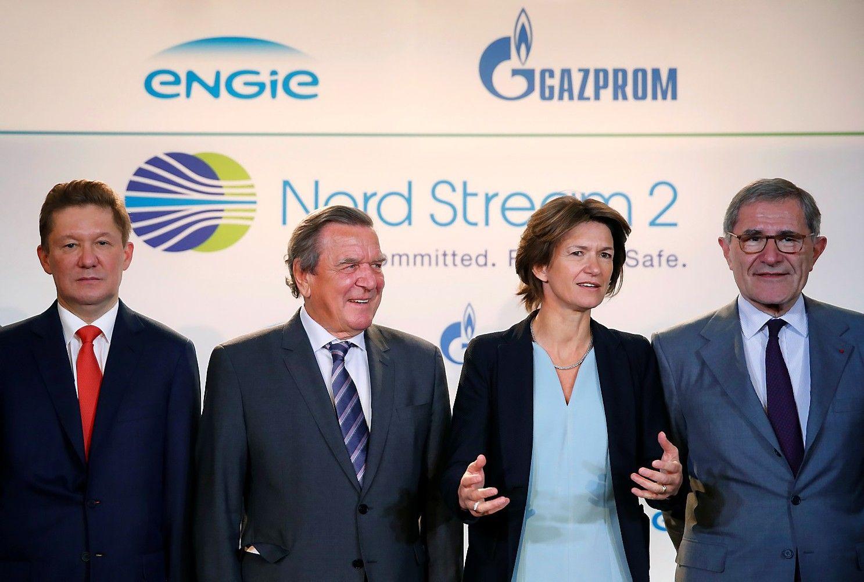 """Europos bendrovės suteikė finansavimą """"Nord Stream 2"""""""