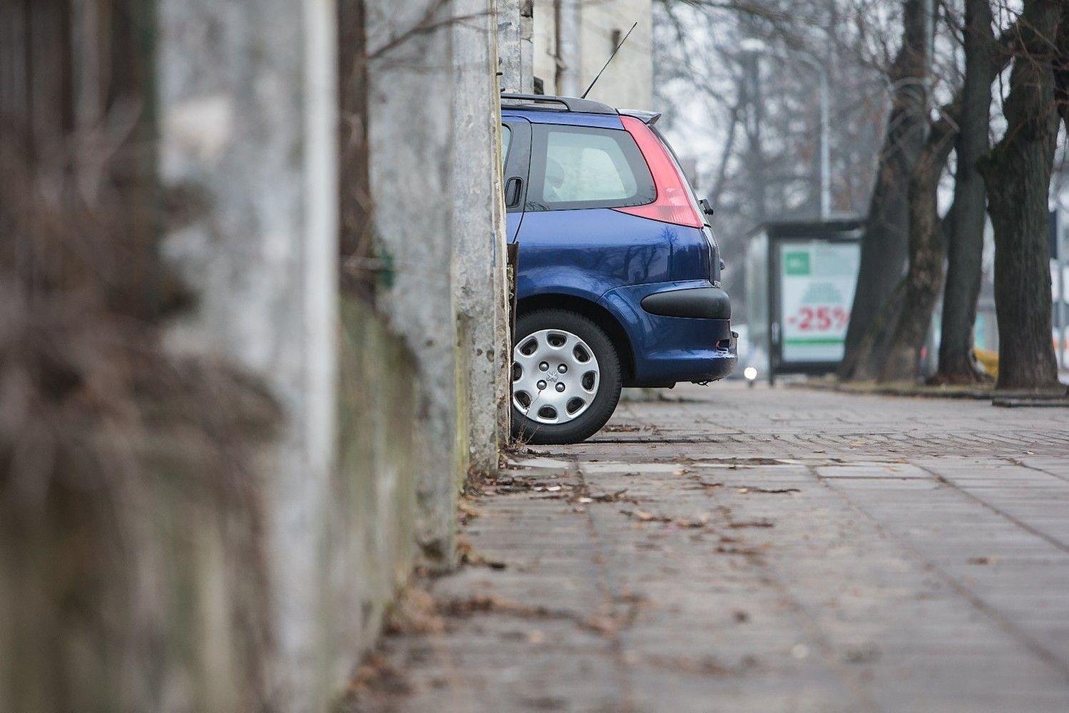 Mažos įmonės automobilį gali nudėvėti ir per metus