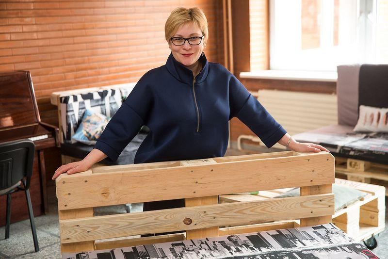 Audronė Alijošiutė, Lietuvos atsakingo verslo asociacijos direktorė, sako, kad sėkmingas verslas negali egzistuoti nesėkmingoje visuomenėje. Vladimiro Ivanovo (VŽ) nuotr.