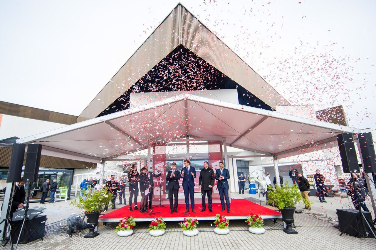 """Per parodos """"Resta"""" atidarymą """"Litexpo"""" pristato renovuotus centrinius rūmus"""