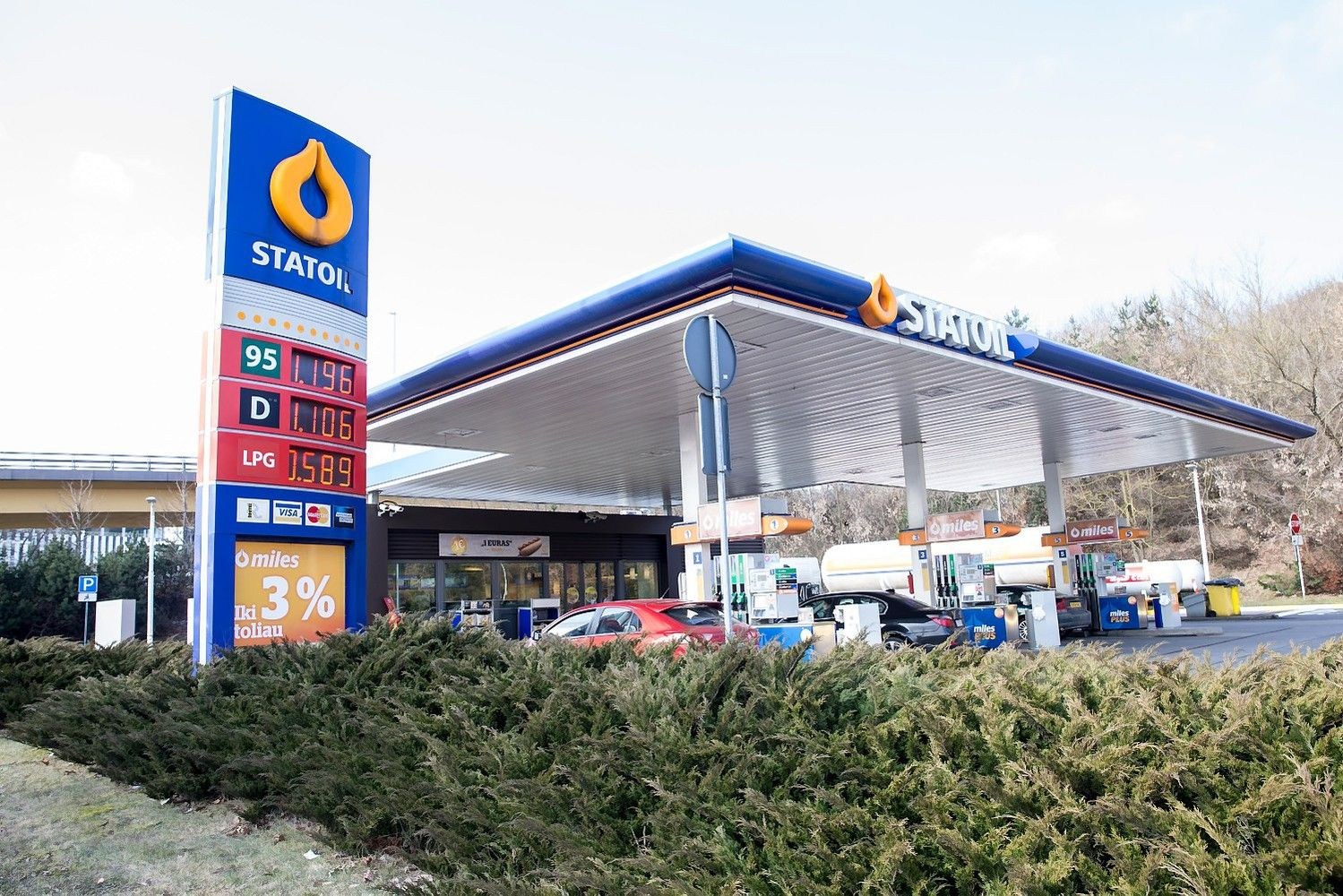 """""""Statoil"""" degalinių tinklas keičia pavadinimą"""