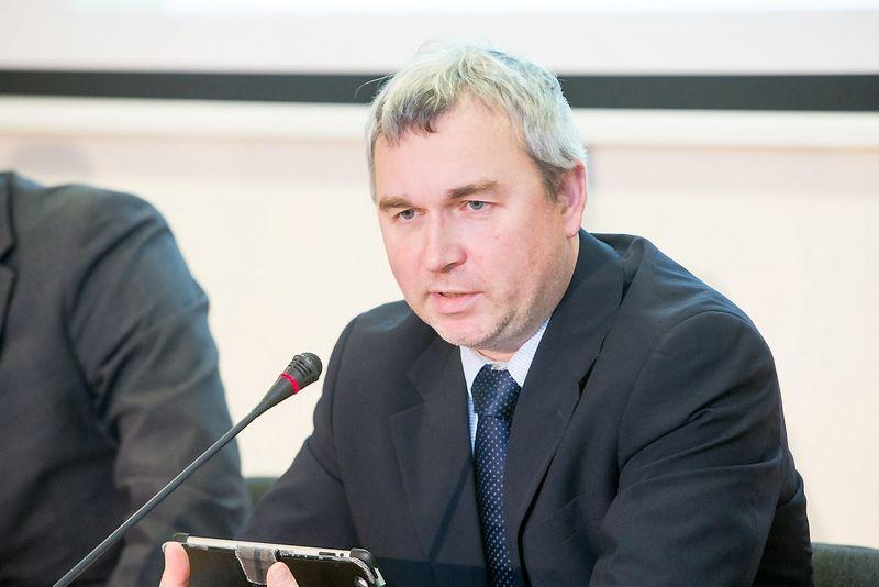 Raimondas Kuodis, ekonomistas, Lietuvos banko valdybos pirmininko pavaduotojas. Juditos Grigelytės (VŽ) nuotr.