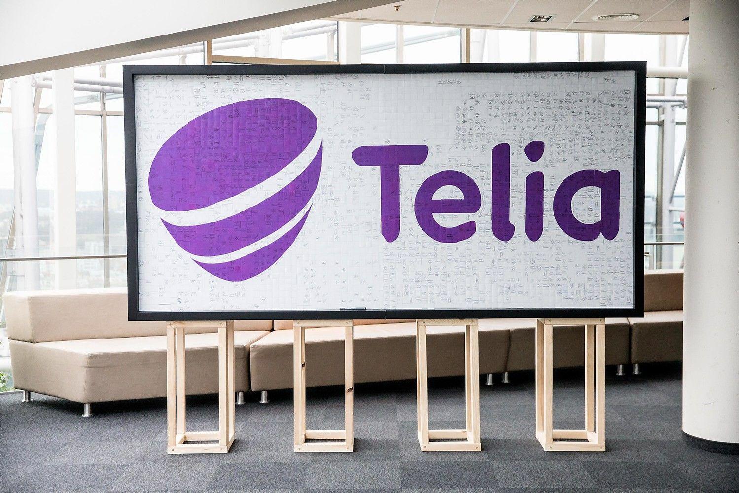 """Telia Lietuva"" lygina metuspo ""Omnitel"" ir ""Teo"" susijungimo"