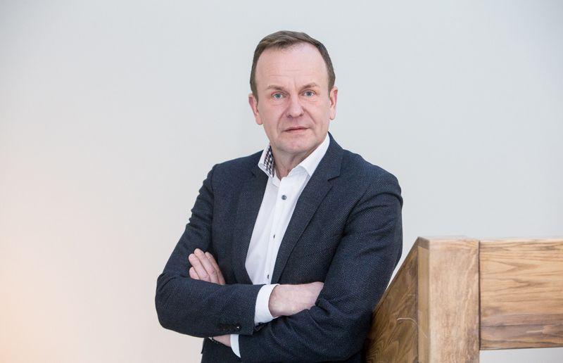 """Artūras Urbonavičius, rinkos tyrimų bendrovės """"Baltmi Baltic Market Insights"""" verslo plėtros vadovas. Juditos Grigelytės (VŽ) nuotr."""