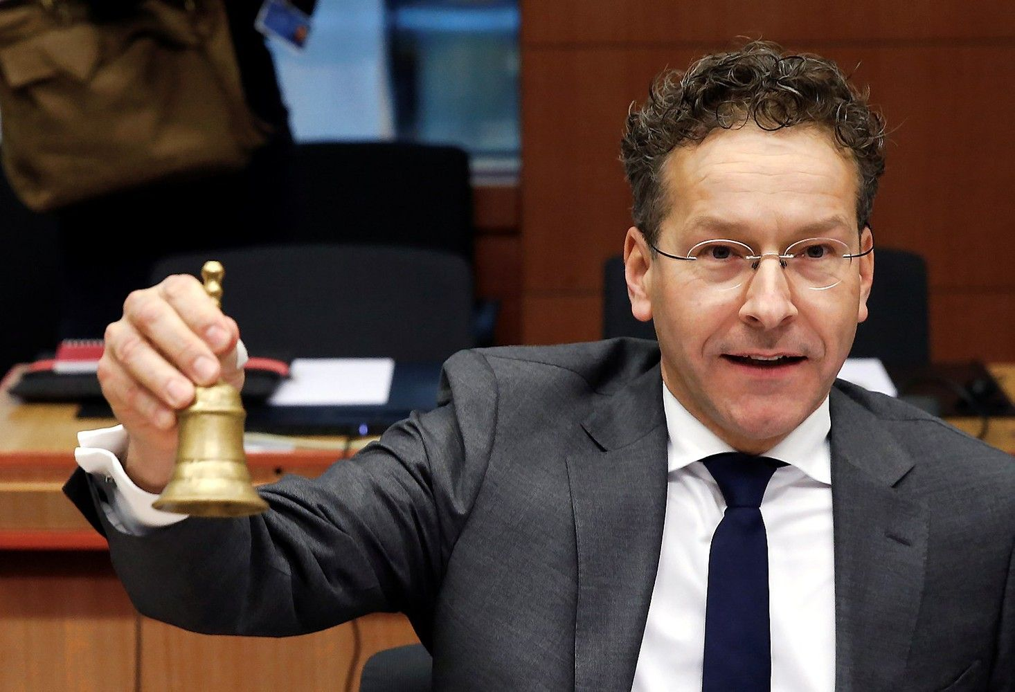 Euro grupės vadovas: Graikijos skolų naštą reikės mažinti