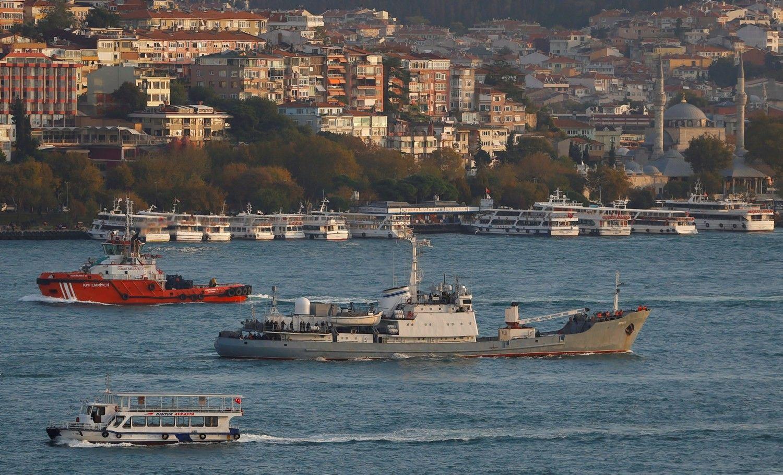 Juodojoje jūroje nuskendo rusų karinis laivas