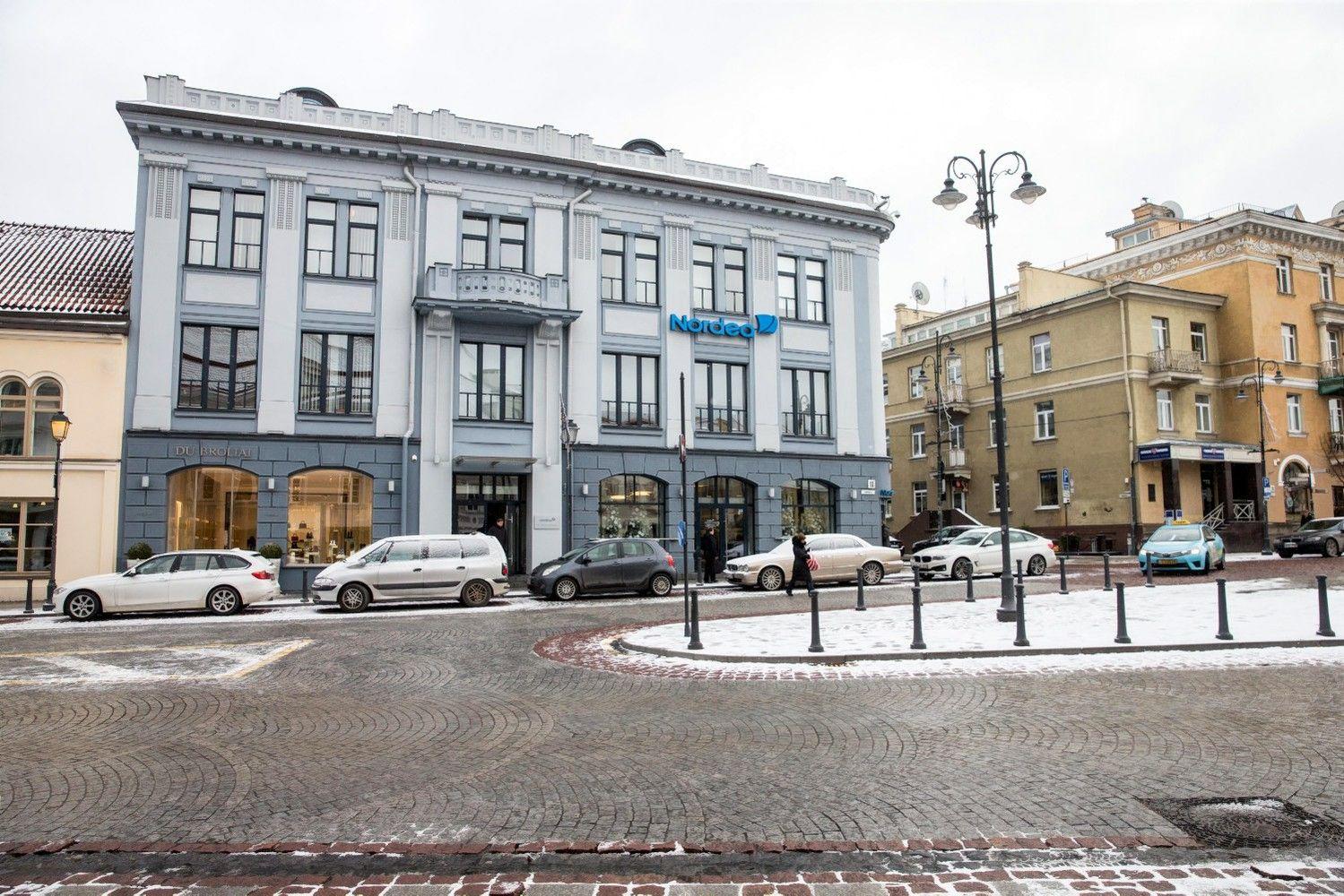"""Per pirmąjį 2017 m. ketvirtį """"Nordea"""" pelnas mažėjo 21%"""