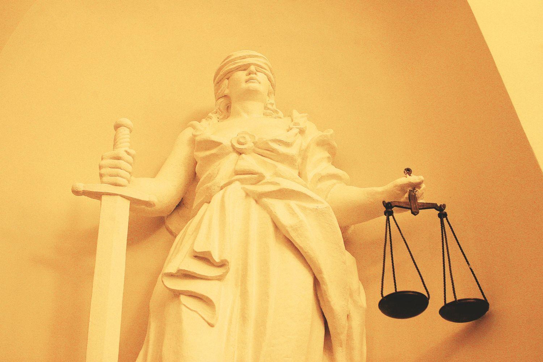 Apsunkusios teisingumo svarstyklės