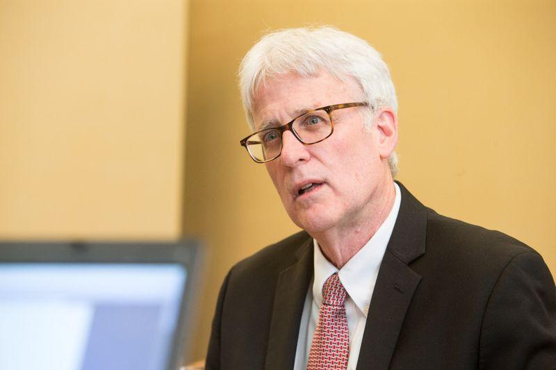 Thomas Weko, Ekonominio bendradarbiavimo ir plėtros organizacijos (EBPO) švietimo analitika. Juditos Grigelytės (VŽ) nuotr.