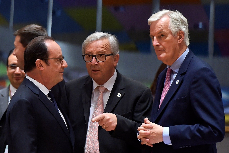 """ES šalyspriėjo vieningospozicijos dėl""""Brexit"""""""