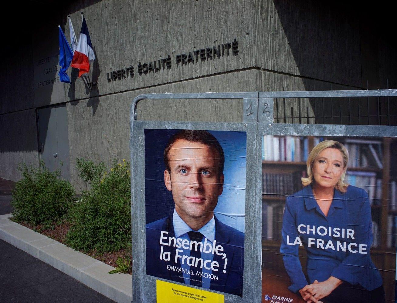 Le Pen sumažino atotrūkį nuo Macrono, rinkėjai abejoja jų galimybėmis valdyti