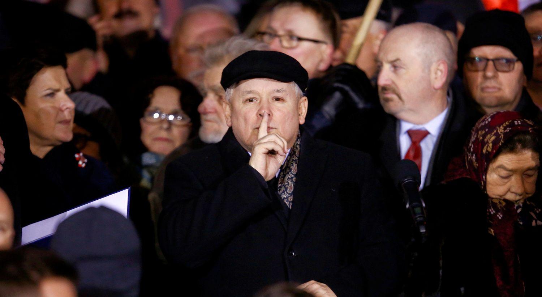 Dėl Macrono replikų – Lenkijos valdžios protestas