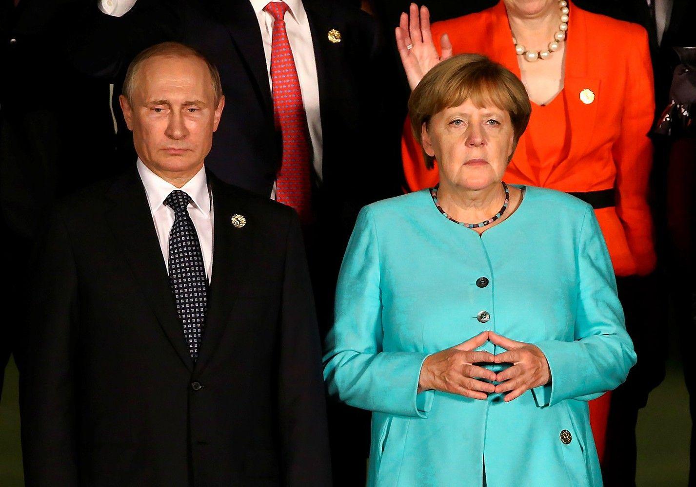 Merkel Sočyje susitinka su Putinu