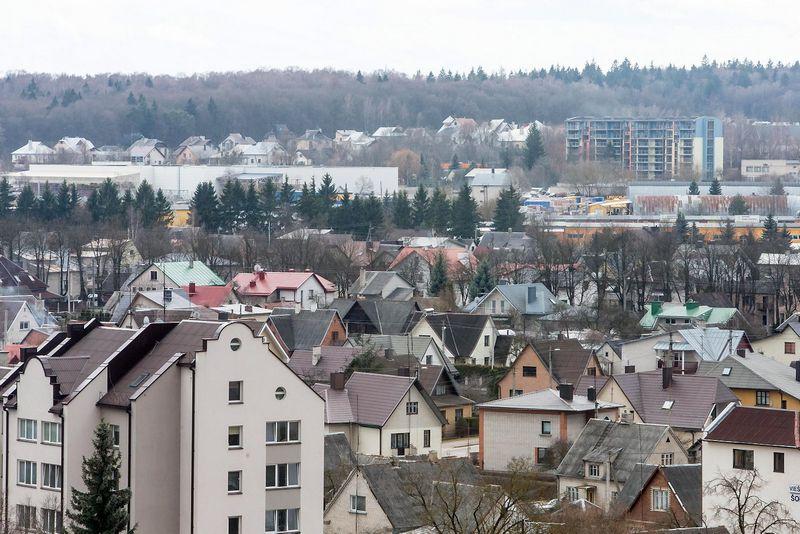 2016 03 31. Alytaus miesto panorama. Juditos Grigelytės (VŽ) nuotr.