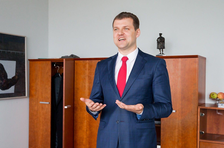 Gintautas Paluckas: ministro portfelio tikrai nesiekiu