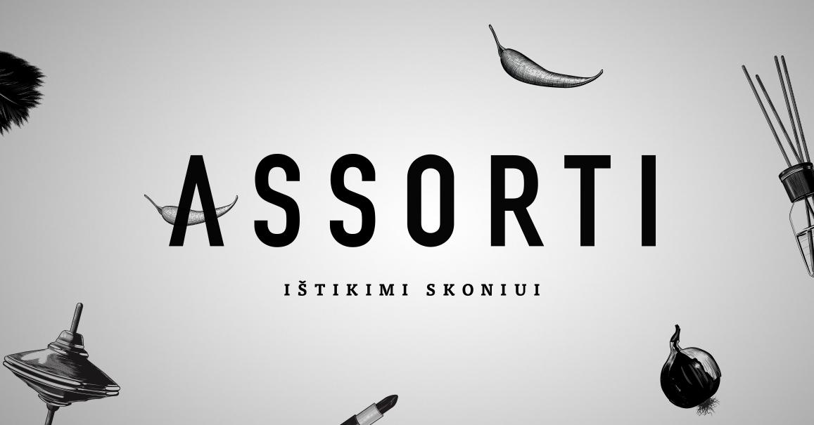 """""""Assorti"""" parduotuvės atnaujina savo prekės ženklą"""