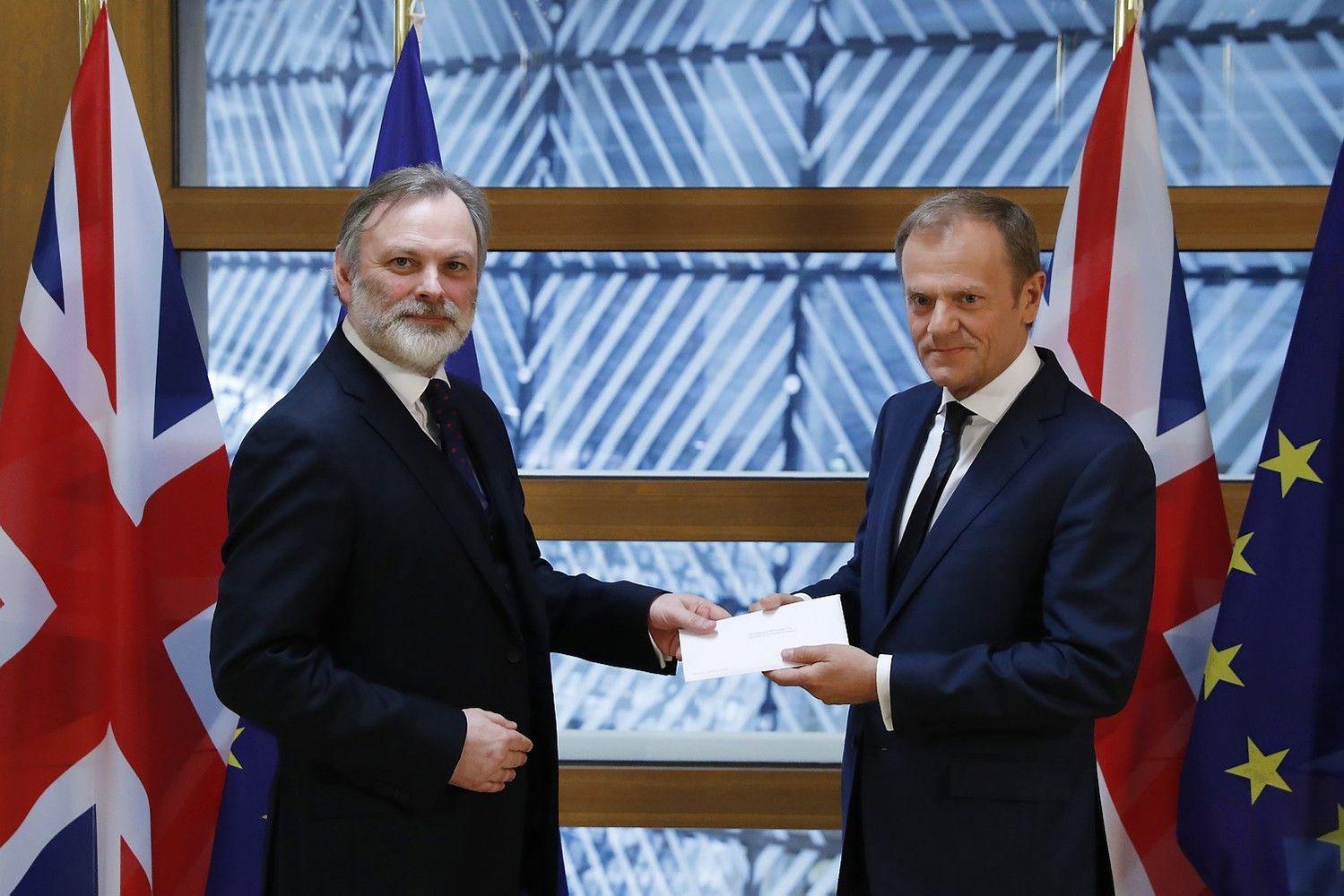 """ES """"Brexit"""" sąskaita išaugo iki 100 mlrd. Eur, britai žada nemokėti"""